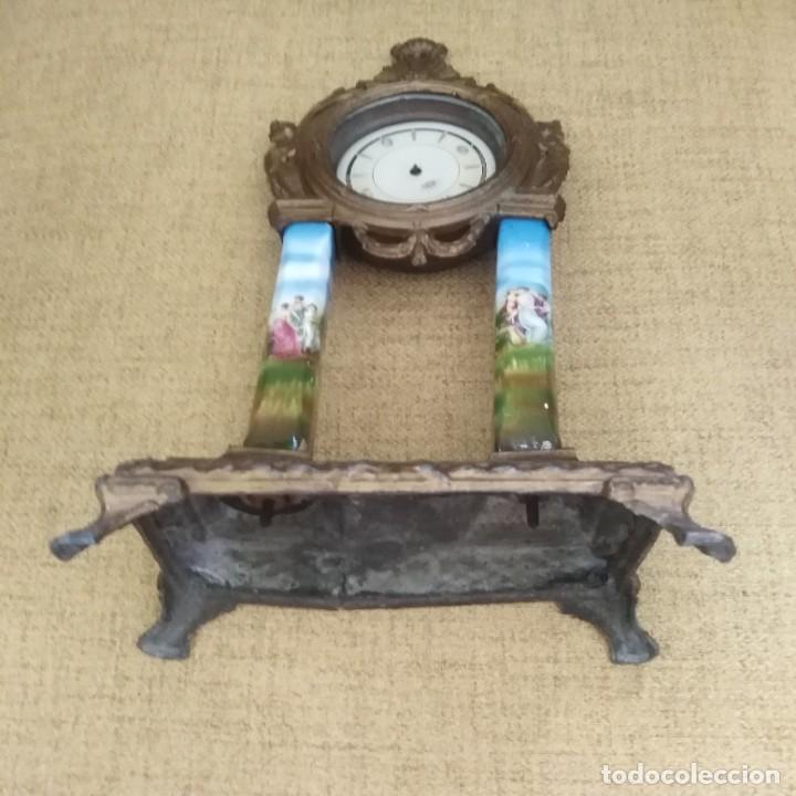Relojes de pie: Antiguo Reloj pórtico - Foto 3 - 271853528