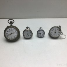 Orologi a pendolo: LOTE DE RELOJES PARA RESTAURAR - ALGUNO FUNCIONA. Lote 274619988