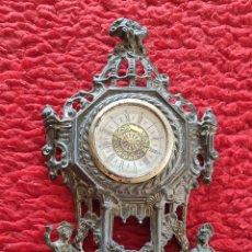 Relojes de pie: RELOJ DE BRONCE. Lote 276121838