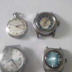 Relojes de pie: LOTE DE RELOJES DE CUERDA. Lote 276818218