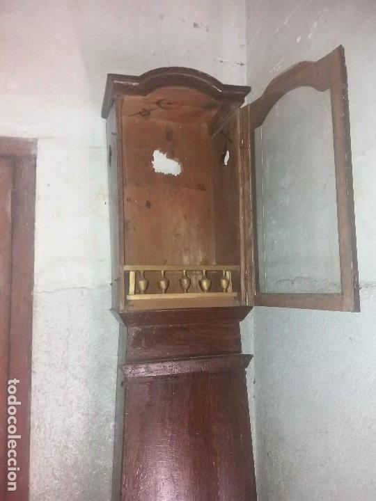 Relojes de pie: Caja de reloj morez - Foto 11 - 277041388