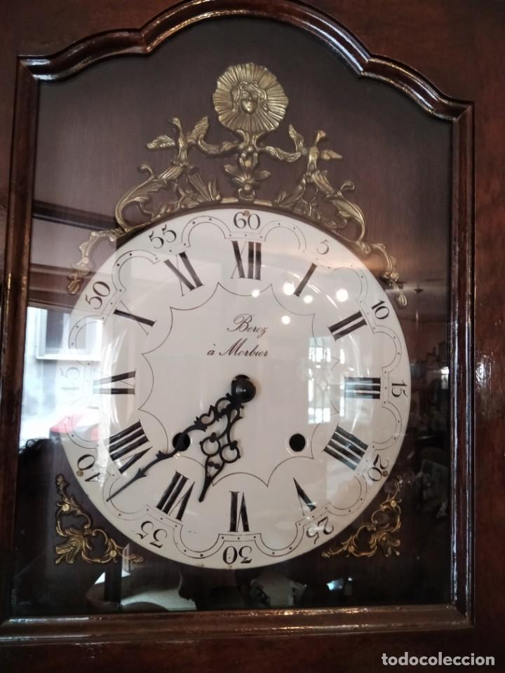 Relojes de pie: RELOJ MORBIER REPRODUCCION DE CALIDAD. MAQUINARIA SUIZA. - Foto 2 - 277077808