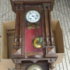 Orologi a pendolo: RELOJ GUSTAV BECKER CON CAMPANA INFERIOR. Lote 281958348