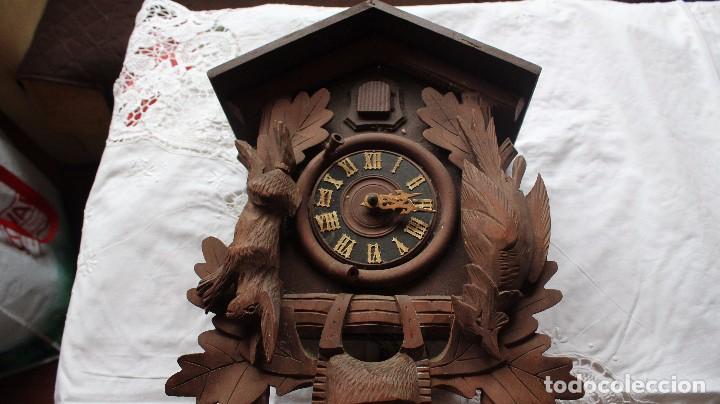 Relojes de pie: RELOJ DE CUCO ANTIGUO - Foto 2 - 285973758