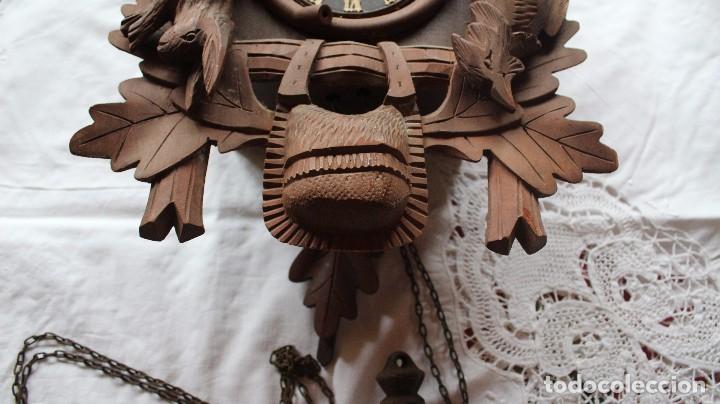 Relojes de pie: RELOJ DE CUCO ANTIGUO - Foto 3 - 285973758