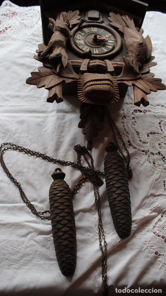 Relojes de pie: RELOJ DE CUCO ANTIGUO - Foto 4 - 285973758