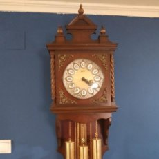 Relojes de pie: ANTIGUO Y BONITO RELOJ DE PARED CARRILLÓN J. PASTOR. Lote 287408698