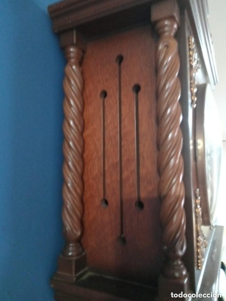 Relojes de pie: Antiguo y bonito reloj de pared carrillón j. pastor - Foto 2 - 287408698