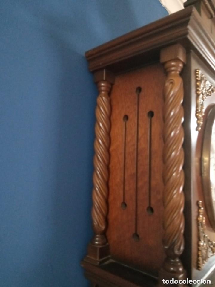 Relojes de pie: Antiguo y bonito reloj de pared carrillón j. pastor - Foto 4 - 287408698