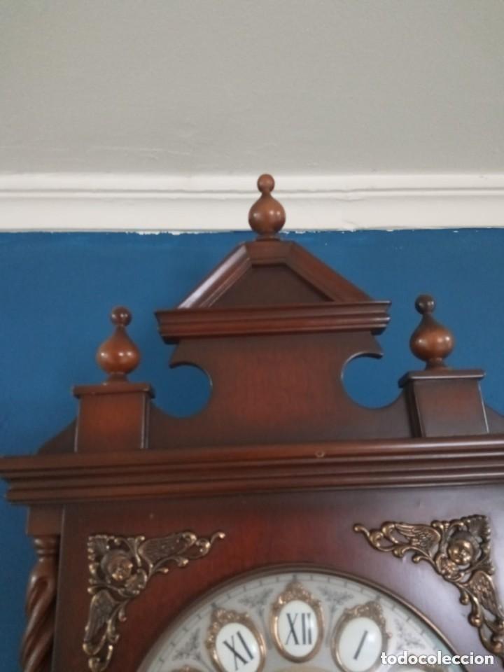 Relojes de pie: Antiguo y bonito reloj de pared carrillón j. pastor - Foto 5 - 287408698