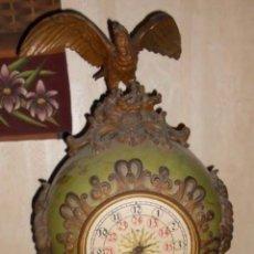 Relojes de pie: IMPRESIONANTE RELOJ ÚNICO ALEMÁN MARCA LENZKIRCH NUMERADO SOLO RECOGIDA EN CASTELLÓN. Lote 287622773