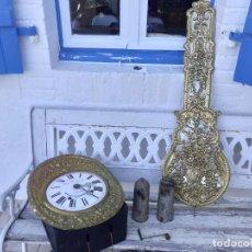 Relojes de pie: RELOJ MOREZ CON PENDULO REAL DE ESPEJO. Lote 288232098