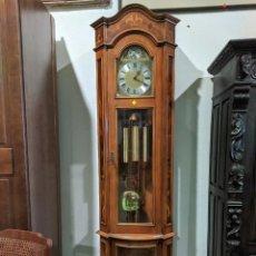 Relojes de pie: RELOJ DE PIE ANTIGUO CON MAQUINARÍA CARRILLÓN. Lote 293347898