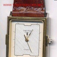 Relojes de pulsera: HERMA RELOJ DE PULSERA SRA (CUARZO) (NOS = NEW OLD STOCK). Lote 27596606