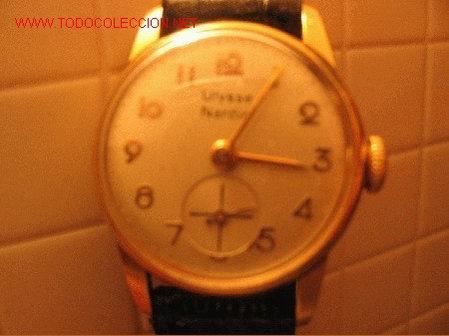 RELOJ ORO PARA DAMA ULYSSE NARDIN (Relojes - Pulsera Carga Manual)