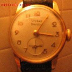 Relojes de pulsera: RELOJ ORO PARA DAMA ULYSSE NARDIN. Lote 20047148