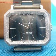 Relojes de pulsera: ANTIGUO RELOJ DE CUERDA SUIZO. Lote 25026000