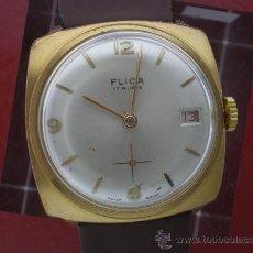 Relojes de pulsera: RELOJ SWISS MARCA FLICA.. Lote 27352192