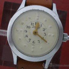 Relojes de pulsera: CURIOSO RELOJ PARA CIEGOS CON ESFERA BRAILLE.. Lote 26386876