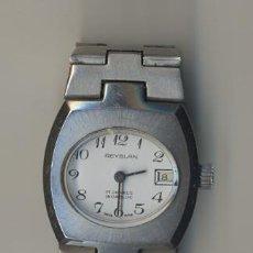 Relojes de pulsera: RELOJ REYBLAN DE SEÑORA,SUIZO FUNCIONA. Lote 11992303