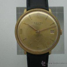 Relojes de pulsera: ORIGINAL VINTAGE CAUNY CALENDARIO AÑOS 60.. Lote 26624028