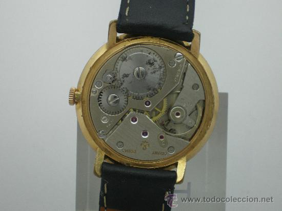 Relojes de pulsera: Original Vintage CAUNY Calendario Años 60. - Foto 2 - 26624028