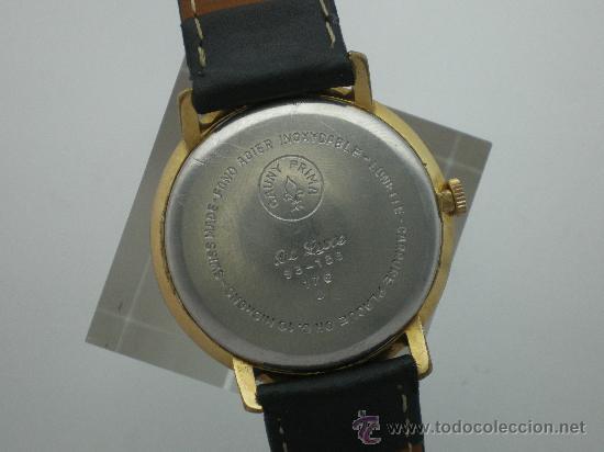Relojes de pulsera: Original Vintage CAUNY Calendario Años 60. - Foto 4 - 26624028