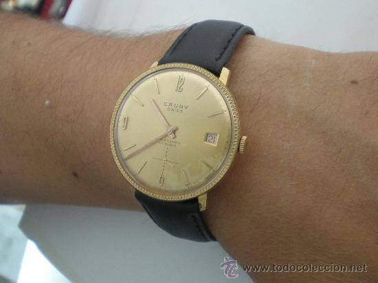 Relojes de pulsera: Original Vintage CAUNY Calendario Años 60. - Foto 7 - 26624028