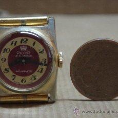 Relojes de pulsera: ANTIGUO RELOJ PULSERA SEÑORA MARCA REXOR 37 TH AVENUE SWISS MADE. Lote 28723358