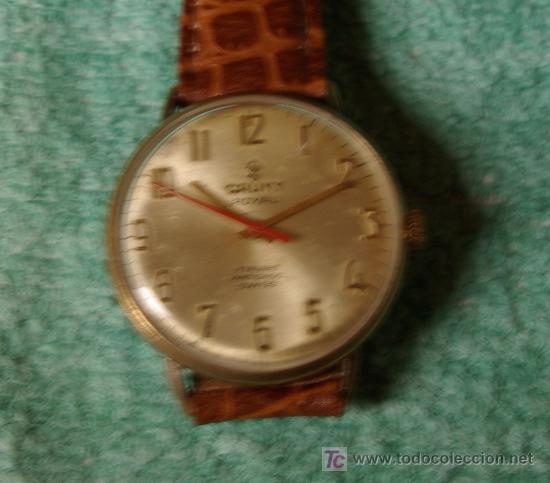 Reloj Cauny Royal Caballero Comprar Relojes Antiguos De