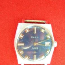 Relojes de pulsera: RELOJ SUIZO CLER . Lote 15663134