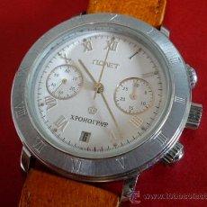 Relojes de pulsera: -ÚLTIMO- POLJOT CRONO -NUMEROS ROMANOS - ORIGINAL-NUEVO-. Lote 104783111