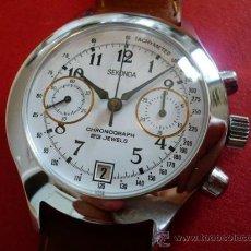 Relojes de pulsera: -ÚLTIMO- POLJOT CRONONOGRAFO PARA EXPORTACION -SECONDA URSS- ORIGINAL-OLD STOCK-. Lote 14861644