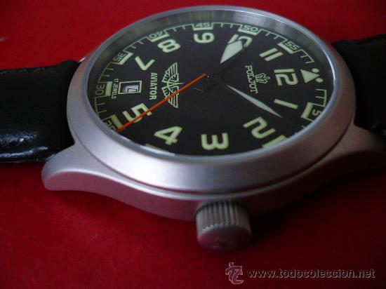 Relojes de pulsera: POLJOT - AVIADOR - SERIE LIMITADA A SOLO 999 EJEMPLARES NUEVO -ORIGINAL-NUEVO- - Foto 2 - 16794603