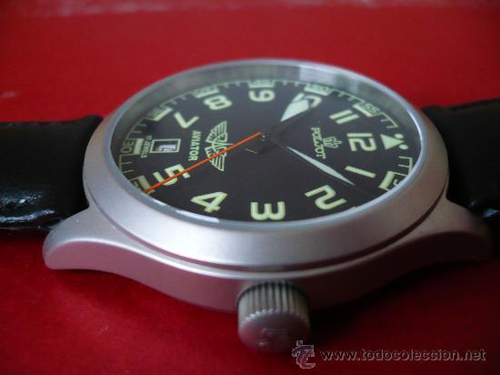 Relojes de pulsera: POLJOT - AVIADOR - SERIE LIMITADA A SOLO 999 EJEMPLARES NUEVO -ORIGINAL-NUEVO- - Foto 3 - 16794603