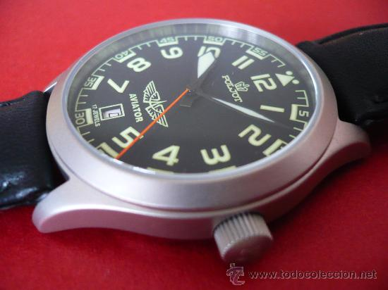 Relojes de pulsera: POLJOT - AVIADOR - SERIE LIMITADA A SOLO 999 EJEMPLARES NUEVO -ORIGINAL-NUEVO- - Foto 4 - 16794603