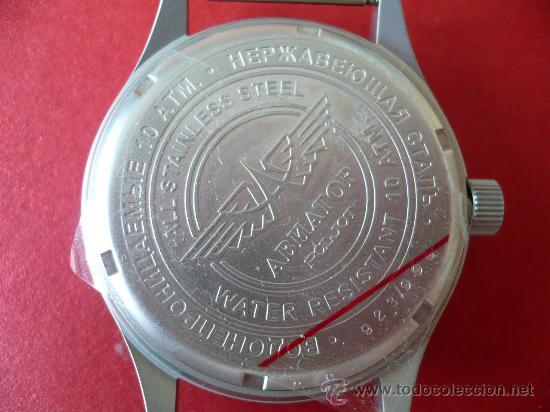 Relojes de pulsera: POLJOT - AVIADOR - SERIE LIMITADA A SOLO 999 EJEMPLARES NUEVO -ORIGINAL-NUEVO- - Foto 5 - 16794603