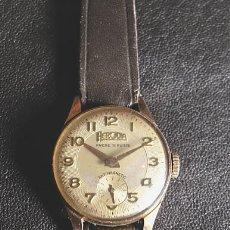 Relojes de pulsera: RELOJ HERODIA DE SEÑORA. AÑOS 50. PLAQUE ORO. FUNCIONANDO. Lote 26444017