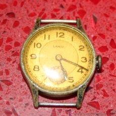 Relojes de pulsera: ANTIGUO RELOJ DE SEÑORA LANDI PARA RESTAURAR O PIEZAS. Lote 25781063