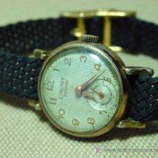 Relojes de pulsera: ANTIGUO RELOJ PULSERA, DE DAMA, A CUERDA, 1950S, CAUNY PRIMA, 15 RUBIES. Lote 19535934