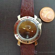 Relojes de pulsera: VOSTOK KADETE SUMERGIBLE. MADE IN URSS. OLD STOCK. Lote 20226891