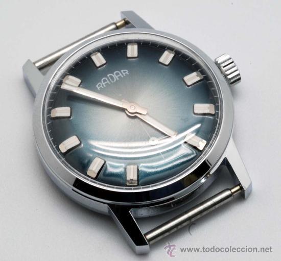 RELOJ CADETE RADAR NIQUELADO CON SEGUNDERO AÑOS 60 (Relojes - Pulsera Carga Manual)