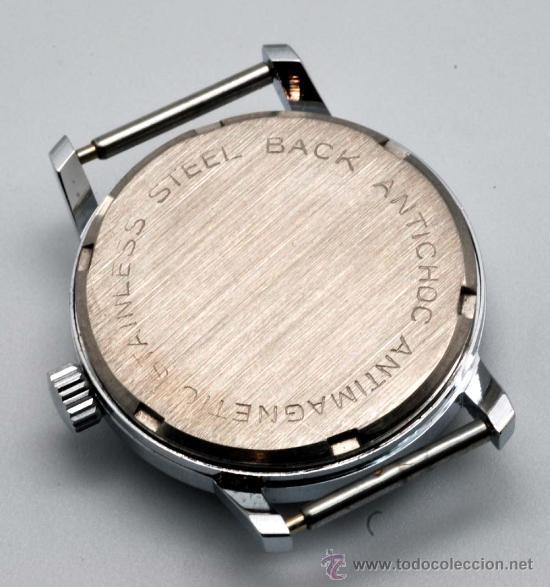 Relojes de pulsera: Reloj cadete Radar niquelado con segundero años 60 - Foto 2 - 252003110