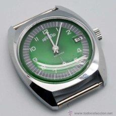 Relojes de pulsera: RELOJ CADETE RADAR NIQUELADO CON CALENDARIO Y SEGUNDERO A LAS 6 AÑOS 60. Lote 252003090