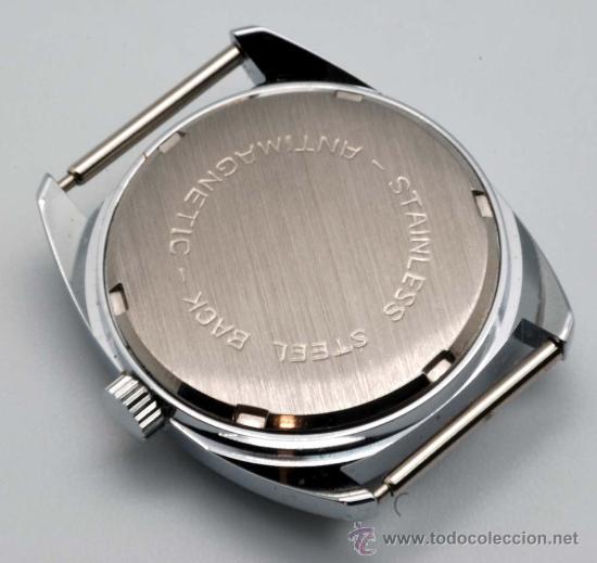 Relojes de pulsera: Reloj cadete Radar niquelado con calendario y segundero a las 6 años 60 - Foto 2 - 252003090