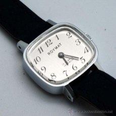 Relojes de pulsera: RELOJ SEÑORA ROYMAT 17 JEWELS INCABLOC CUERDA AÑOS 60. Lote 175669318