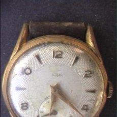 Relojes de pulsera: RELOJ PULSERA CUERDA CADETE 20MM FUNCIONA. Lote 21674092