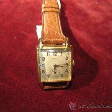 Relojes de pulsera: RELOJ DE PULSERA CHAPADO MARCA TELL. Lote 24681191