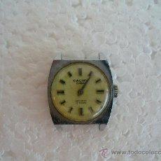 Relojes de pulsera: RELOJ DE SEÑORA MARCA CAUNY PLATEADO. ( FUNCIONA). Lote 26652453