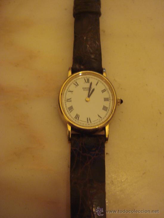 bdf186885a4e Reloj de pulsera seiko quartz enchapado en oro - Vendido en Subasta ...